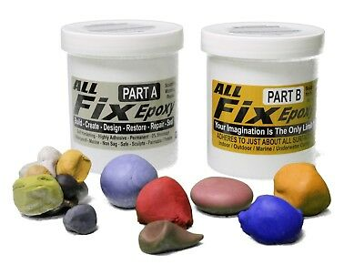 3 LB ALL-FIX Color Changing EPOXY PUTTY Sculpting Modeling & Repair Compound