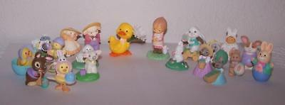 Hallmark Merry Miniatures - Easter - Lot of 21 - All Different - Group #3