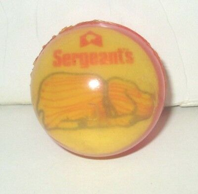 "Sergeant's Dog Pet Supply Company High Bounce Super Ball 2"" Advertising Premium"