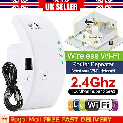 Wireless Repeater 300Mbps WiFi Signal WiFi Range Extender Router Sky Wps Booster