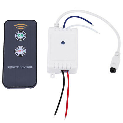 1CH 12V Wireless IR Infrared Remote Control Receiver ON/OFF Relay Switch hon
