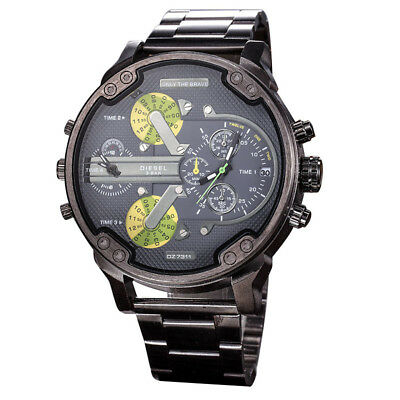 Stainless Steel Analog Mens Fashion Mechanical Automatic Wrist Steel Band Watch