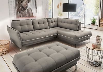 Wohnlandschaft in braun woody 118 00295 eur 993 00 for Ecksofa polster
