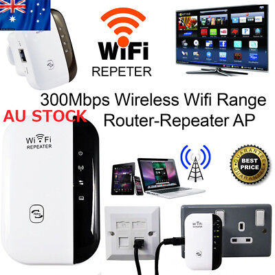 300Mbps AP Router-Repeater Wireless Network 802.11 Wifi Extender Range Booster