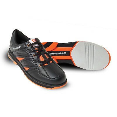 Bowlingschuhe Brunswick Warrior black orange Gr. 44.5 Herrenschuhe Sonderangebot