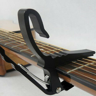 Metal Quick Change Release Folk Acoustic Electric Tune Trigger Capo Guitar Clamp