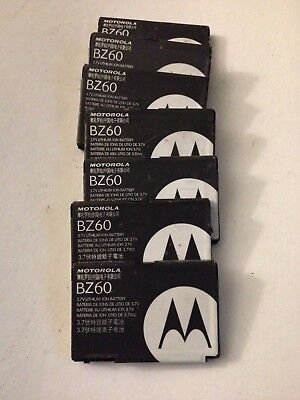 7 Pieces: Original OEM Motorola BZ60 Phone Battery RAZR V3c V3xx V3a V3i V6 Lot