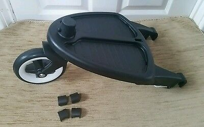 Bugaboo Bee, bee plus and bee 3 wheeled board with adapters .