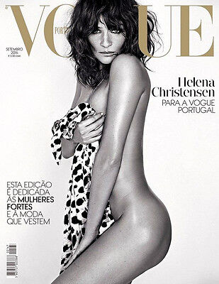 VOGUE Magazine Portugal September 2016 HELENA CHRISTENSEN Louise Parker
