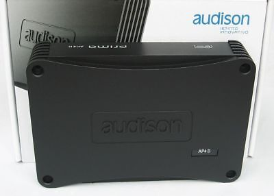 Audison Prima Ap 4D 4-Channel Amplifier 520W Made In Italy, Brand New, Warranty