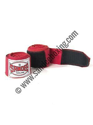 Sandee Red 5m 100% Elasticated Cotton Hand Wrap Handwrap