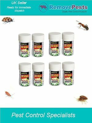 8 x Bed Bug bomb poison Killer fogger Fumigator Pest Treatment 3.5g Mini Insecto