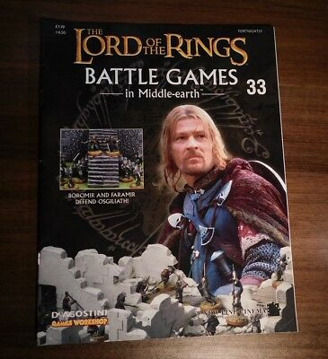 LORD OF THE RINGS Battle Games in Middle-earth Magazine Issue 33