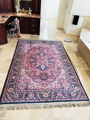 beautiful vintage-antique karastan heriz #726 6x9 area rug - $650.00 6x9 Area Rugs