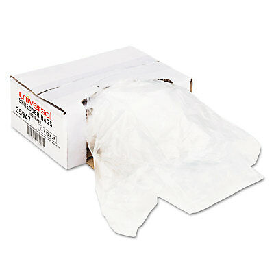 UNIVERSAL High-Density Shredder Bags 16 gal Capacity 100/Box 35947