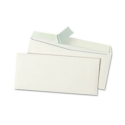 UNIVERSAL Peel Seal Strip Business Envelope #10 4 1/8 x 9 1/2 White 500/Box