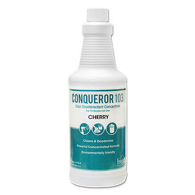 FRESH PRODUCTS Conqueror 103 Odor Counteractant Concentrate Cherry 32oz Bottle