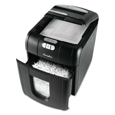 SWINGLINE Stack-and-Shred 100XL Auto Feed Super Cross-Cut Shredder Value Pack,