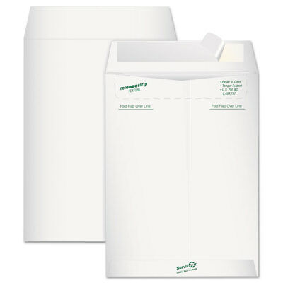 Survivor Tyvek Mailer Side Seam 9 x 12 White 15/Pack R1419
