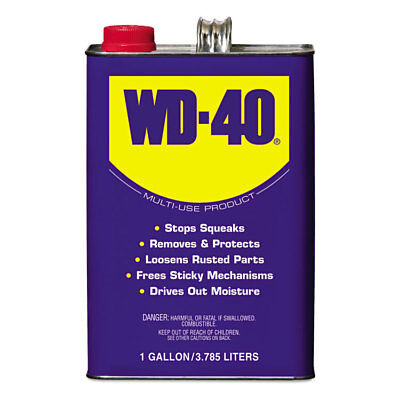 WD-40 Heavy-Duty Lubricant, 1 Gallon Can, 4/Carton 490118