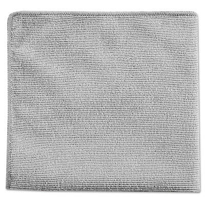 Rubbermaid Commercial Executive Multi-Purpose Microfiber Cloths Gray 12 x 12 24