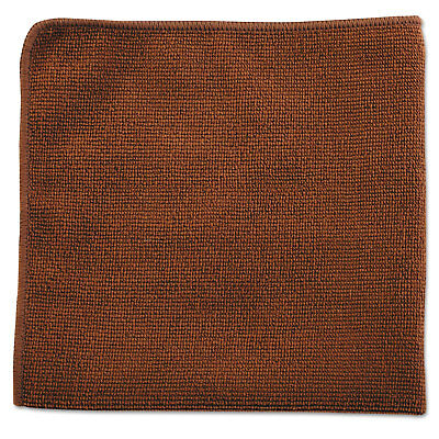 Rubbermaid Commercial Executive Multi-Purpose Microfiber Cloths Brown 12 x 12 24