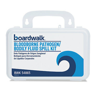 "Boardwalk Blood Clean-Up Kit 30 Pieces 3"" x 8"" x 5"" White 54865"