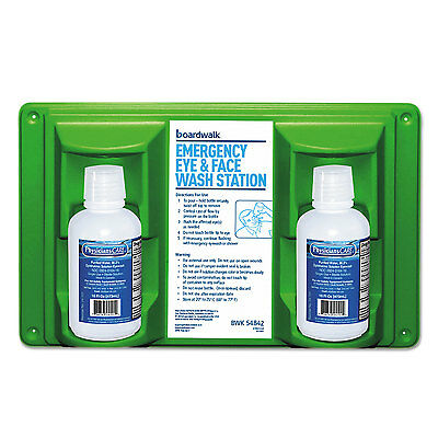 Boardwalk Emergency Eyewash Station 16 oz Bottle 2 Bottles/Station 54842
