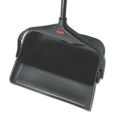 Rubbermaid Commercial Lobby Pro Wet/Dry Spill Pan 13 9/10w x 39h Black Plastic