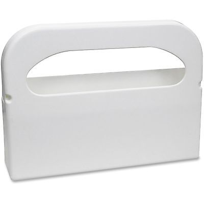 Hospital Specialty Co. Toilet Seat Cover Dispenser Half-Fold Plastic White 16w x