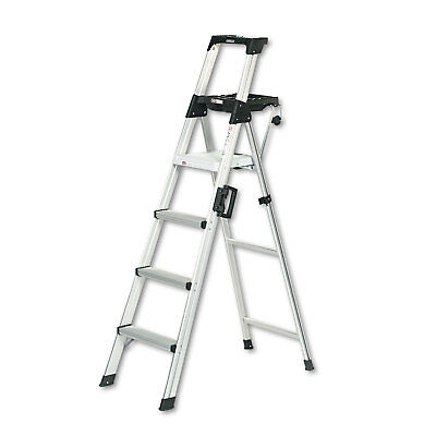 Cosco Signature Series Aluminum Folding Step Ladder w/Leg Lock & Handle 6 ft
