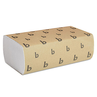 Boardwalk Multifold Paper Towels White 9 x 9 9/20 250 Towels/Pack 16 Packs
