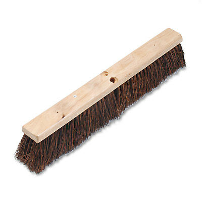 "Boardwalk Floor Brush Head 3 1/4"" Natural Palmyra Fiber 24"" 20124"
