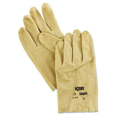 AnsellPro KSR Vinyl-Coated Knit-Lined Gloves Size 10 2251510