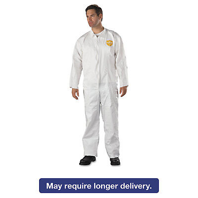 DuPont ProShield NexGen Coveralls HD Polyethylene White X-Large 25/Carton