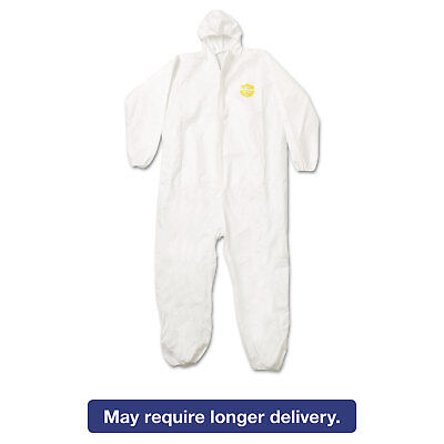 DuPont ProShield NexGen Elastic-Cuff Hooded Coveralls White 2X-Large 25/Carton