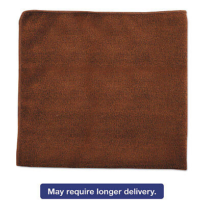 Rubbermaid Commercial Executive Multi-Purpose Microfiber Cloths Brown 16 x 16 24