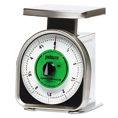 Rubbermaid Commercial Pelouze Y-Line Mechanical Portion-Control Scale 5lb Cap 6
