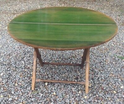 Coaching-Campaign Folding Table Victorian Thornton & Herne