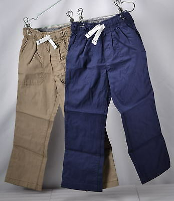 Carter's Boys Toddler 2-Pack Woven Pants, Khaki/Navy, 3T