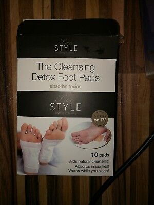 The Cleansing Detox Foot Pads / EntgiftungskurLux Style - Styling in luxury