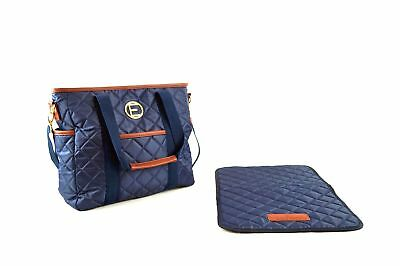 Stylish Diaper Bag- by Eric and Oscar- with Matching Changing Mat - Designer ...