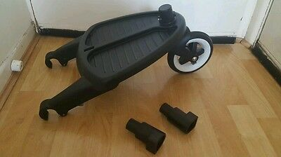 Bugaboo wheeled board with adapters fits cameleon, frog, gecko # ^