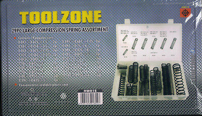29 Large Compression Spring Assortment SMALL-LARGE Extension Tension Expansion