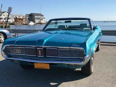 1969 Mercury Cougar XR-7 Convertible 351W, Original Number 92K Miles Car NO RUST