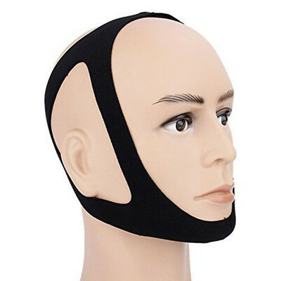 Anti Snoring Chin Strap Anti Snore Stop Snoring Jaw Belt Sleep Support Genkent