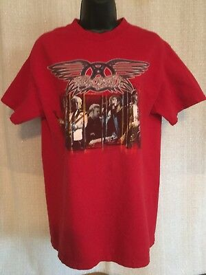 Aerosmith Tour Shirt Rockin' The Joint 2006 Red Medium