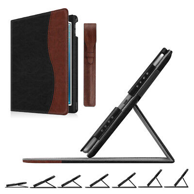 For iPad Pro 9.7 Multi-Angle Viewing Case Cover with Detachable Pencil Holder