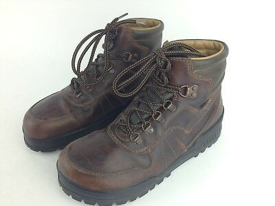 c66e0ecf2fe EUC! BIRKENSTOCK FOOTPRINTS Women's 8.5 Brown Conditioned Leather Hiking  Boots