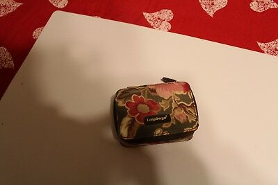 Longaberger Small Jewelry/ring Case